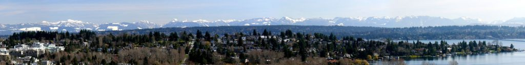 Cascade Mountains Panorama