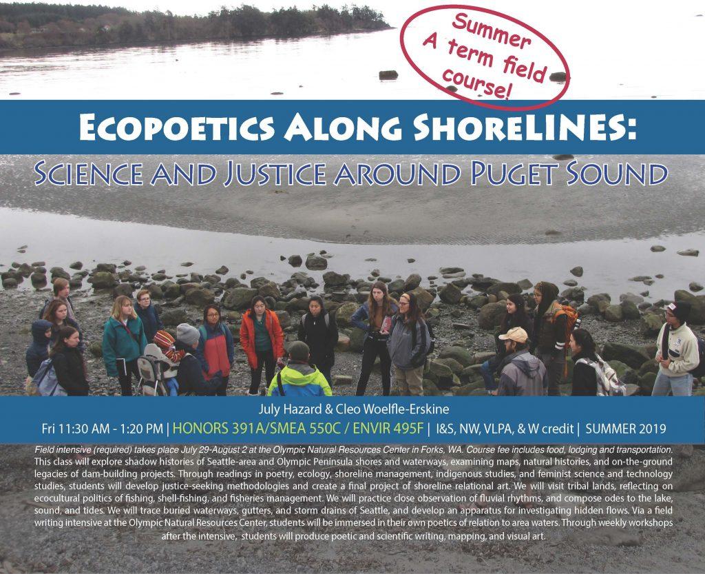 Ecopoetics class flyer