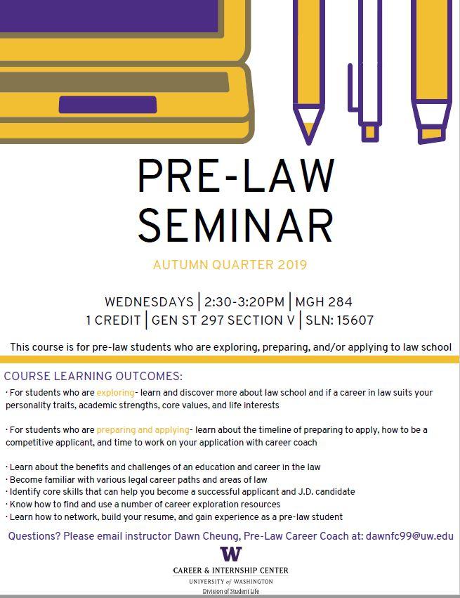 Pre-Law Seminar
