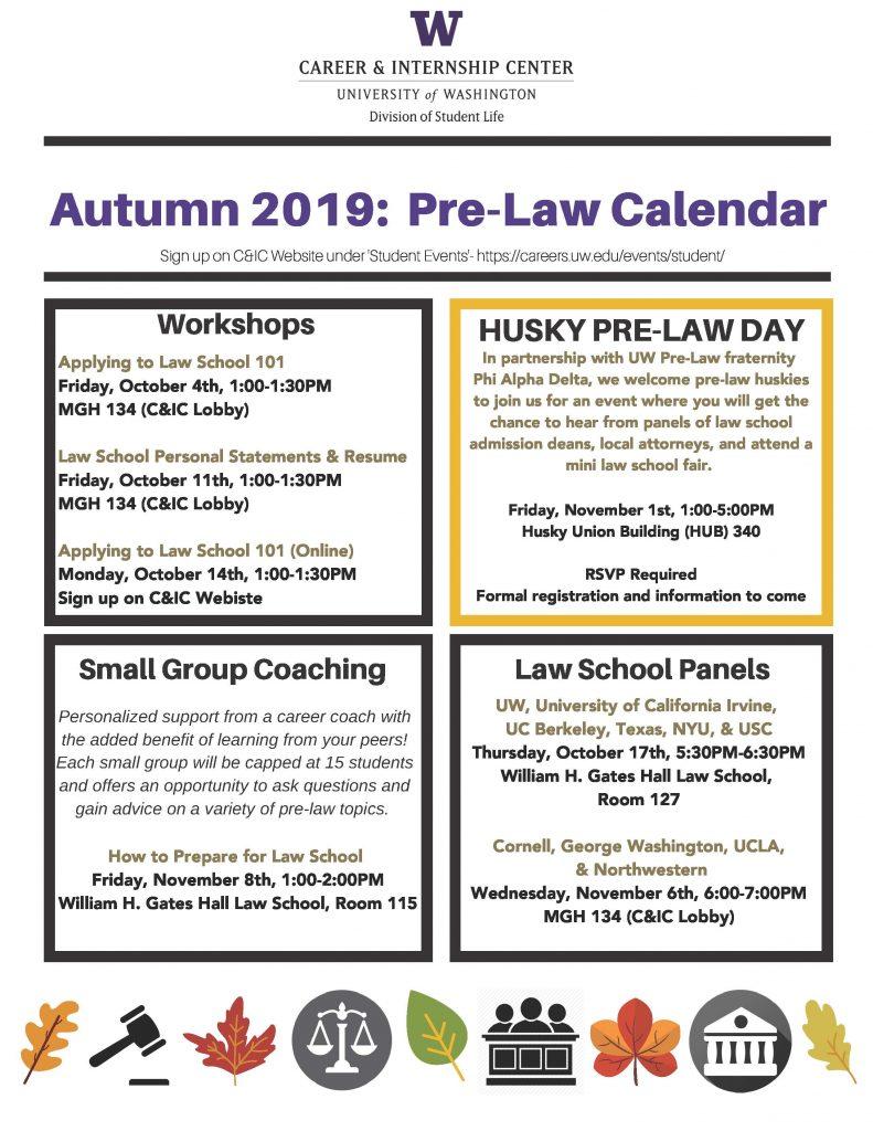 Pre-Law Flyer- Autumn 2019