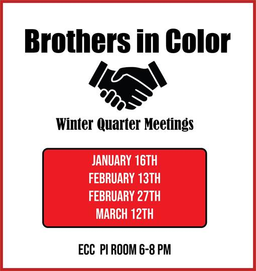 Brothers in Color Meeting Schedule