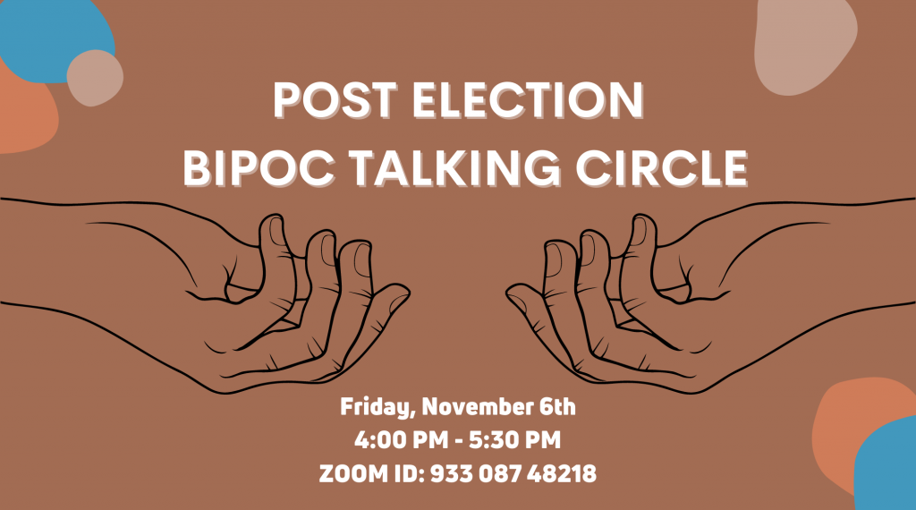 Post Election BIPOC Talking Circle image