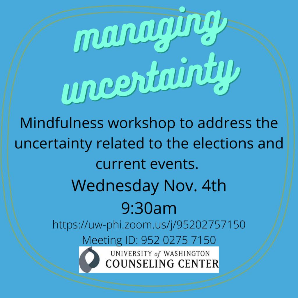 mindfulness workshop image
