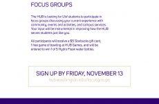 Focus Groups Flyer