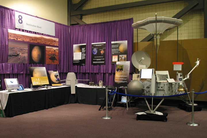 Mars: Aeronautics/Astronautics and Atmospheric Sciences Exhibit